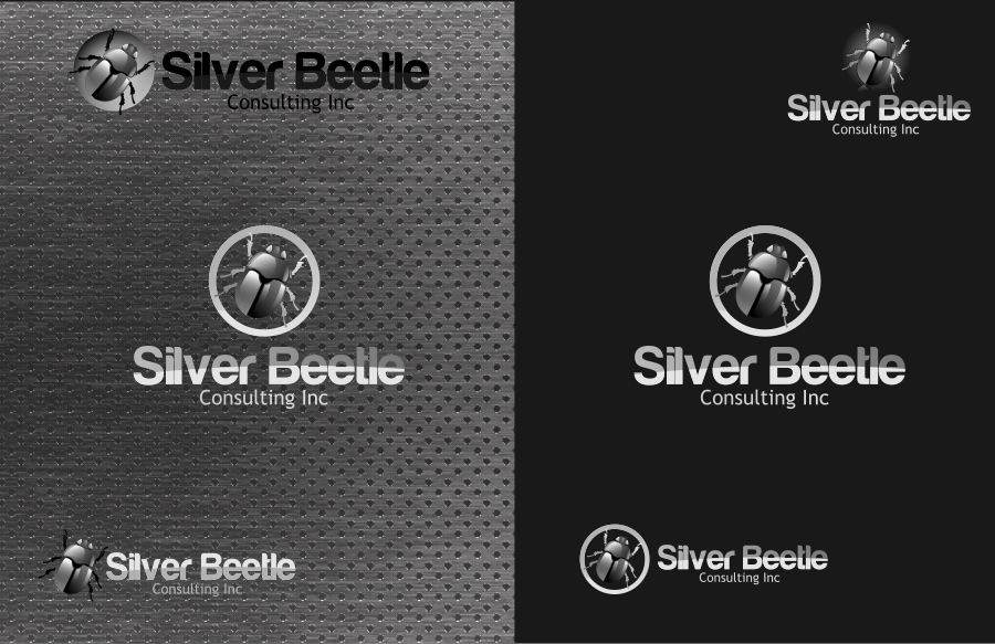 Logo Design by Private User - Entry No. 103 in the Logo Design Contest Silver Beetle Consulting Inc. Logo Design.