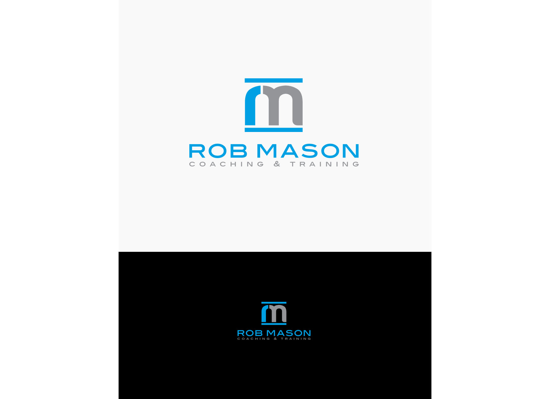 Logo Design by tanganpanas - Entry No. 128 in the Logo Design Contest New Logo Design Needed for Exciting Company Rob Mason Coaching.