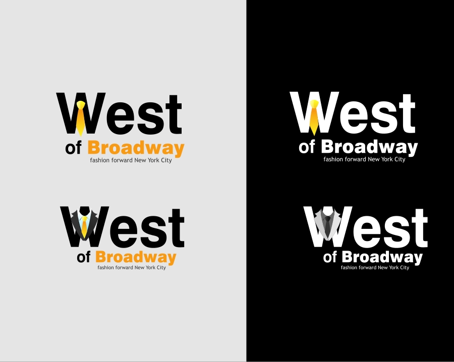 Logo Design by Private User - Entry No. 33 in the Logo Design Contest Unique Logo Design Wanted for West of Broadway.
