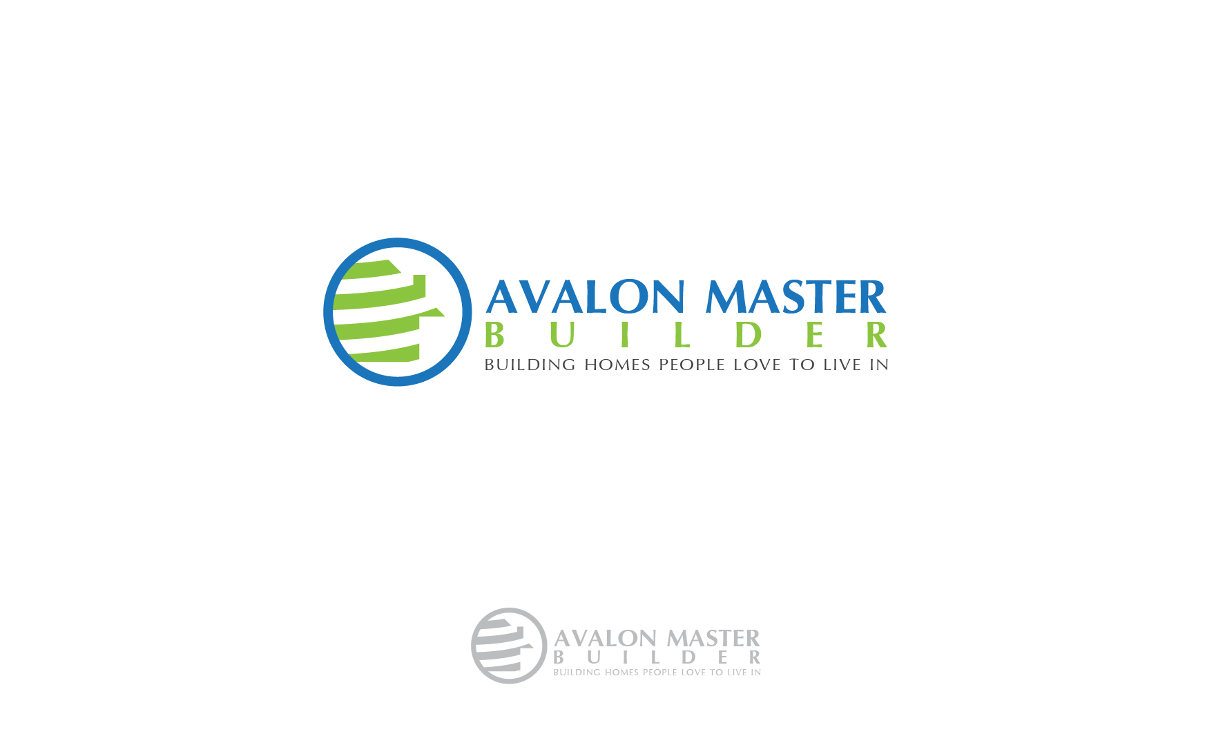 Logo Design by 3draw - Entry No. 48 in the Logo Design Contest Avalon Master Builder Logo Design.