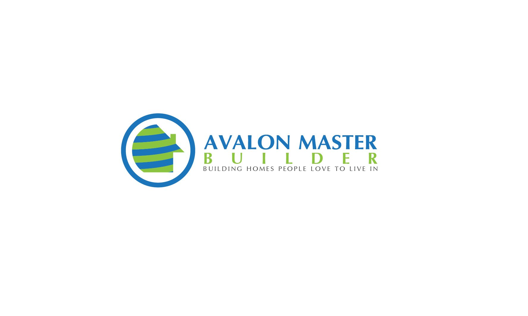 Logo Design by 3draw - Entry No. 49 in the Logo Design Contest Avalon Master Builder Logo Design.