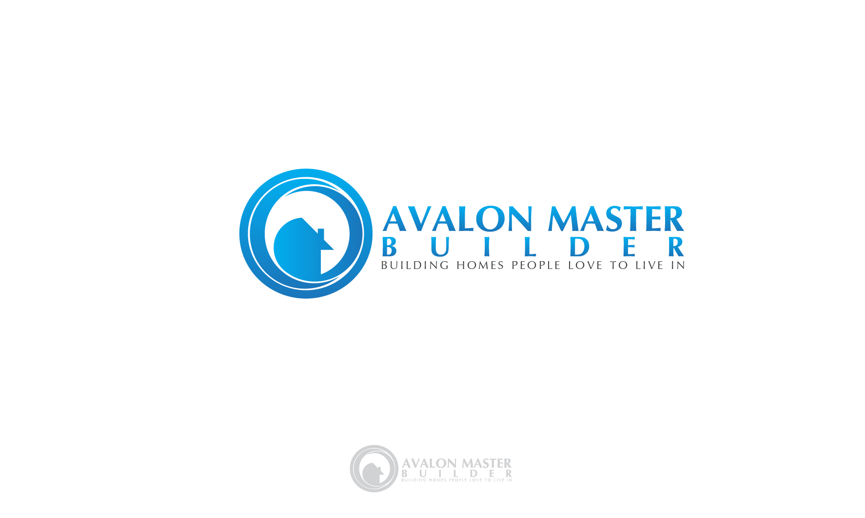 Logo Design by 3draw - Entry No. 50 in the Logo Design Contest Avalon Master Builder Logo Design.