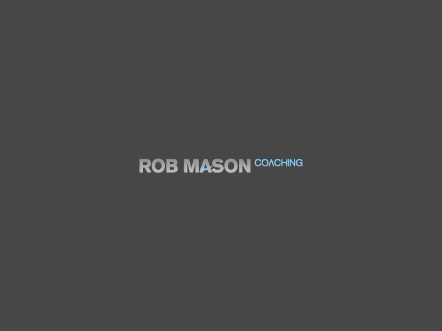 Logo Design by Gabby Menchaca - Entry No. 130 in the Logo Design Contest New Logo Design Needed for Exciting Company Rob Mason Coaching.