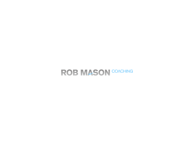 Logo Design by Gabby Menchaca - Entry No. 131 in the Logo Design Contest New Logo Design Needed for Exciting Company Rob Mason Coaching.
