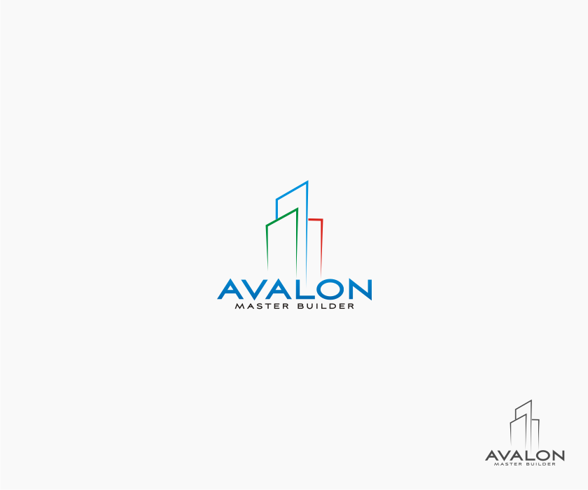 Logo Design by graphicleaf - Entry No. 53 in the Logo Design Contest Avalon Master Builder Logo Design.
