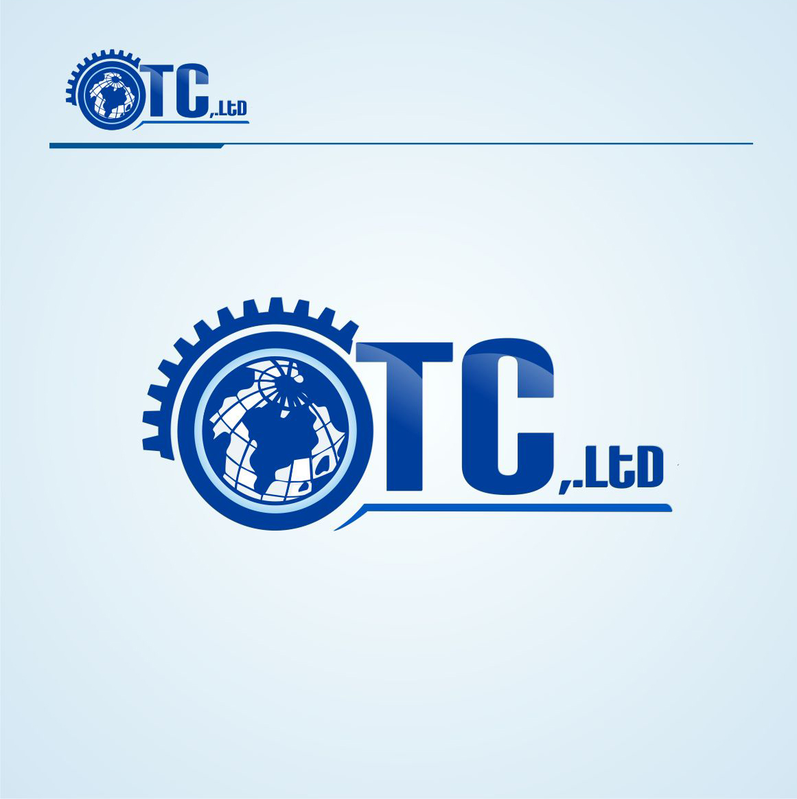 Logo Design by Private User - Entry No. 82 in the Logo Design Contest Unique Logo Design Wanted for OTC Co.,Ltd..