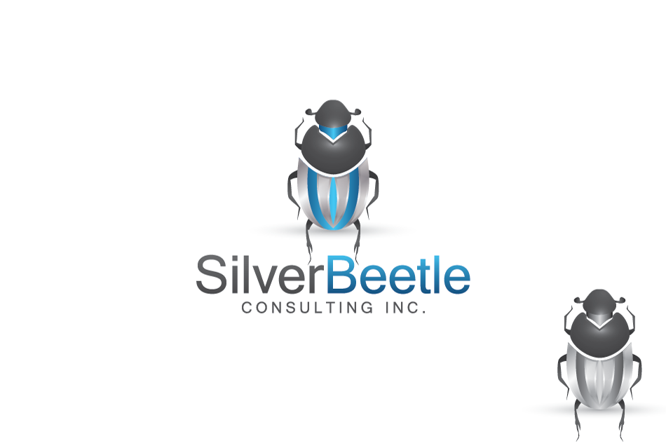 Logo Design by Dipin Bishwakarma - Entry No. 105 in the Logo Design Contest Silver Beetle Consulting Inc. Logo Design.