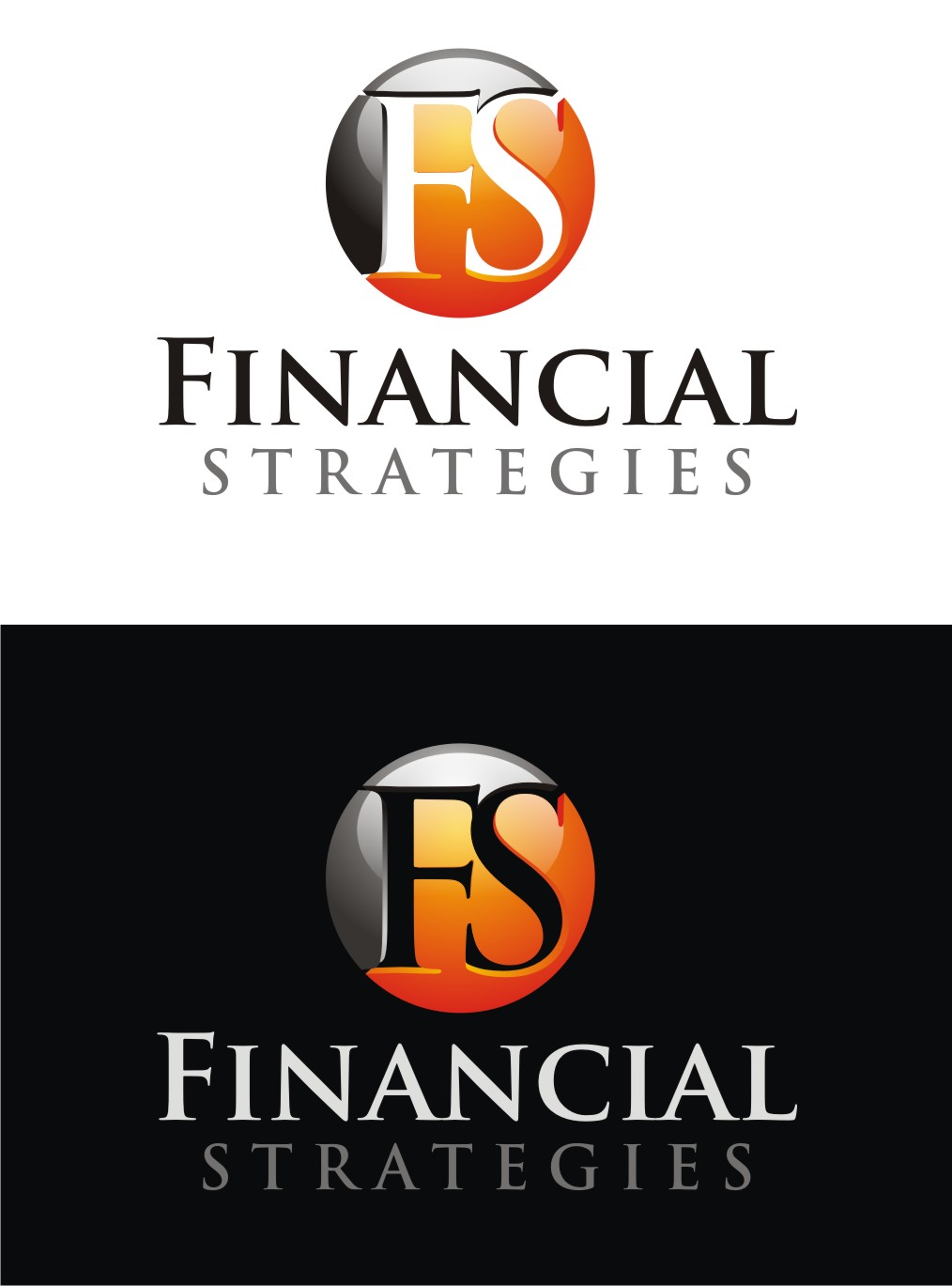 Logo Design by Reivan Ferdinan - Entry No. 67 in the Logo Design Contest Logo Design Needed for Exciting New Company FS Financial Strategies.