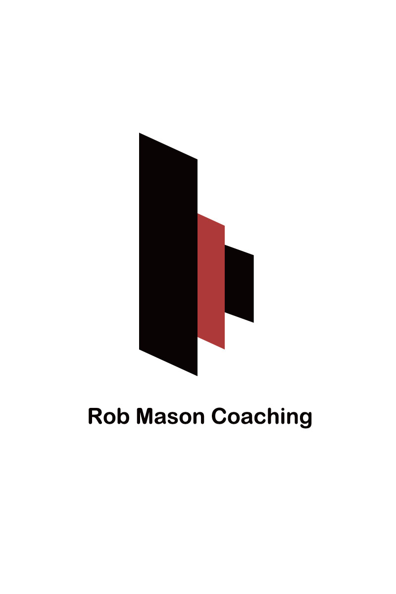 Logo Design by Moag - Entry No. 132 in the Logo Design Contest New Logo Design Needed for Exciting Company Rob Mason Coaching.