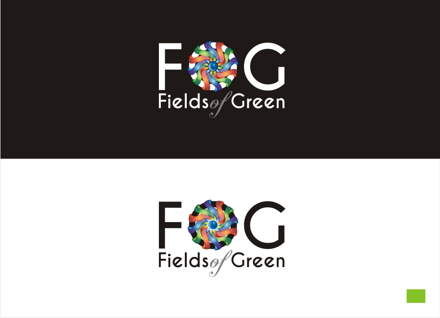 Logo Design by Private User - Entry No. 211 in the Logo Design Contest Psych-Rock Band FIELDS OF GREEN Logo Design.