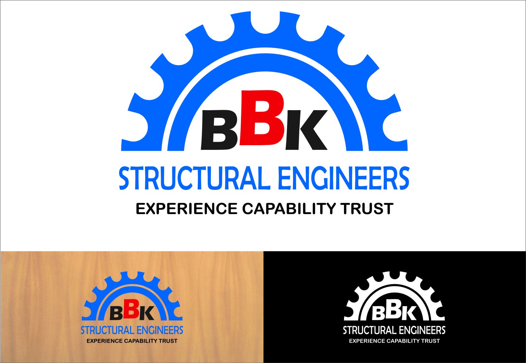 Logo Design by RasYa Muhammad Athaya - Entry No. 17 in the Logo Design Contest Logo Design Needed for Exciting New Company BBK Consulting Engineers.