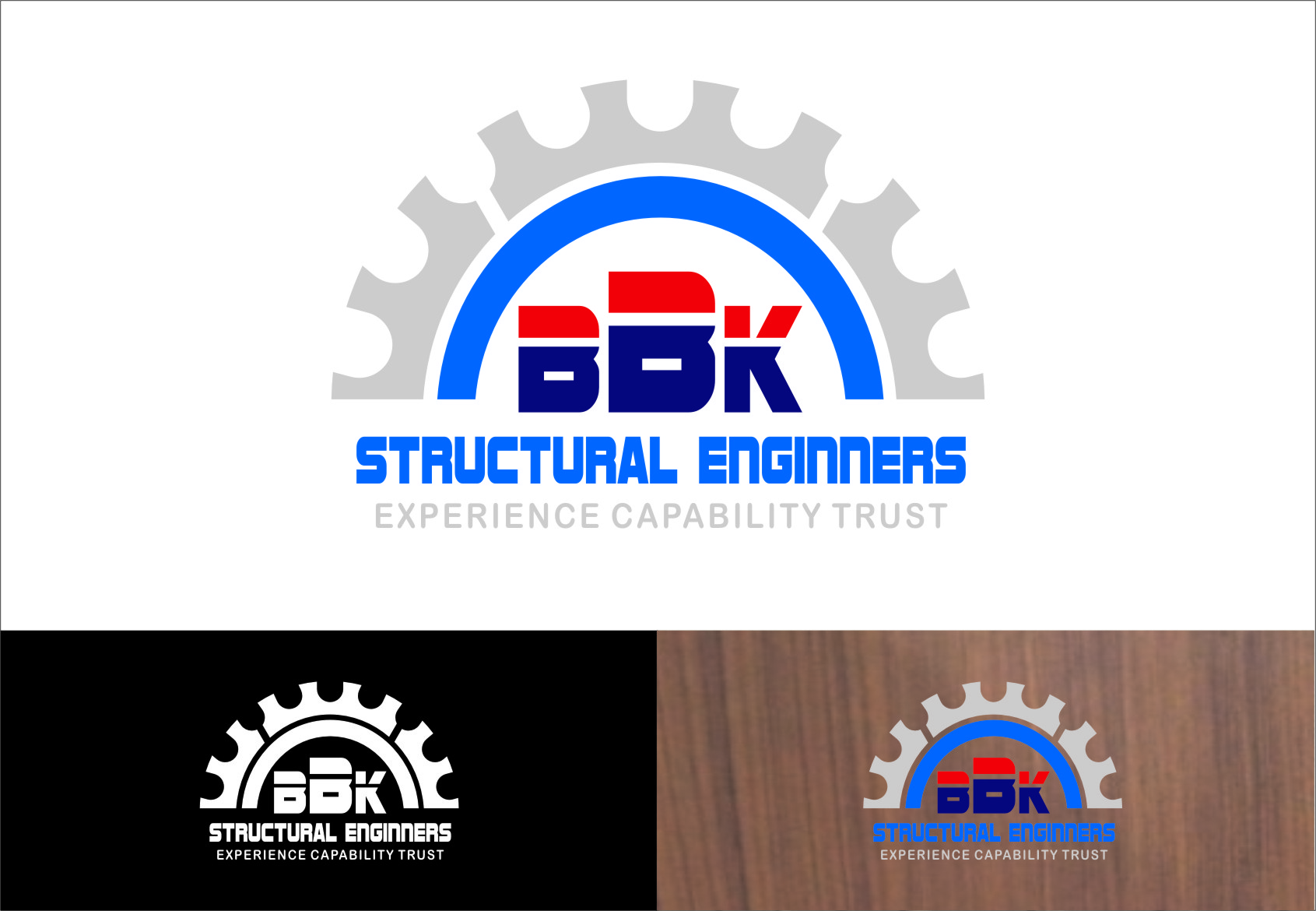 Logo Design by RasYa Muhammad Athaya - Entry No. 18 in the Logo Design Contest Logo Design Needed for Exciting New Company BBK Consulting Engineers.