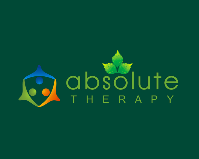 Logo Design by Ifan Afandie - Entry No. 125 in the Logo Design Contest Absolute Therapy.