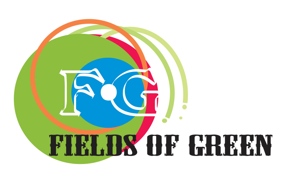 Logo Design by Private User - Entry No. 234 in the Logo Design Contest Psych-Rock Band FIELDS OF GREEN Logo Design.