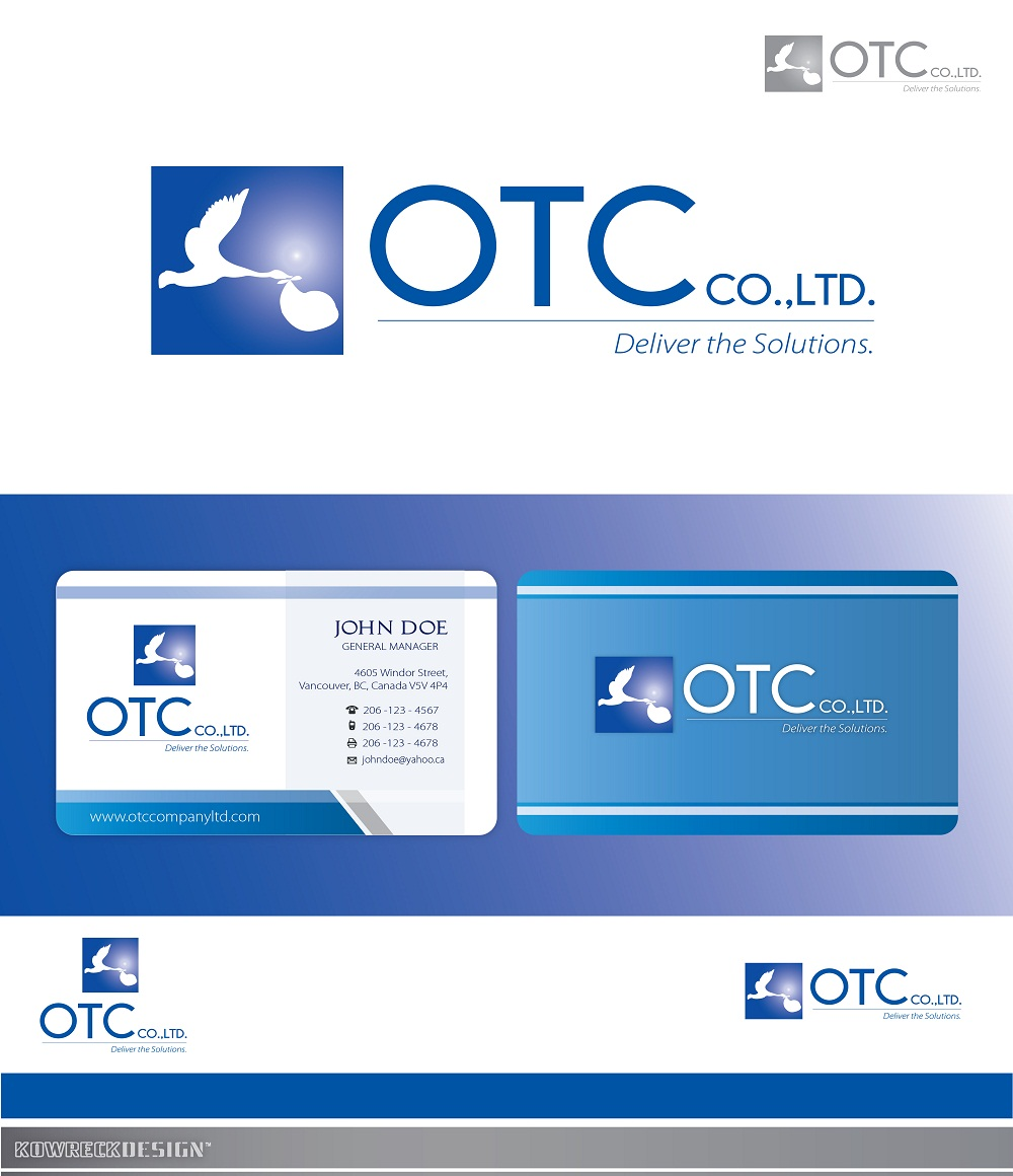Logo Design by kowreck - Entry No. 95 in the Logo Design Contest Unique Logo Design Wanted for OTC Co.,Ltd..