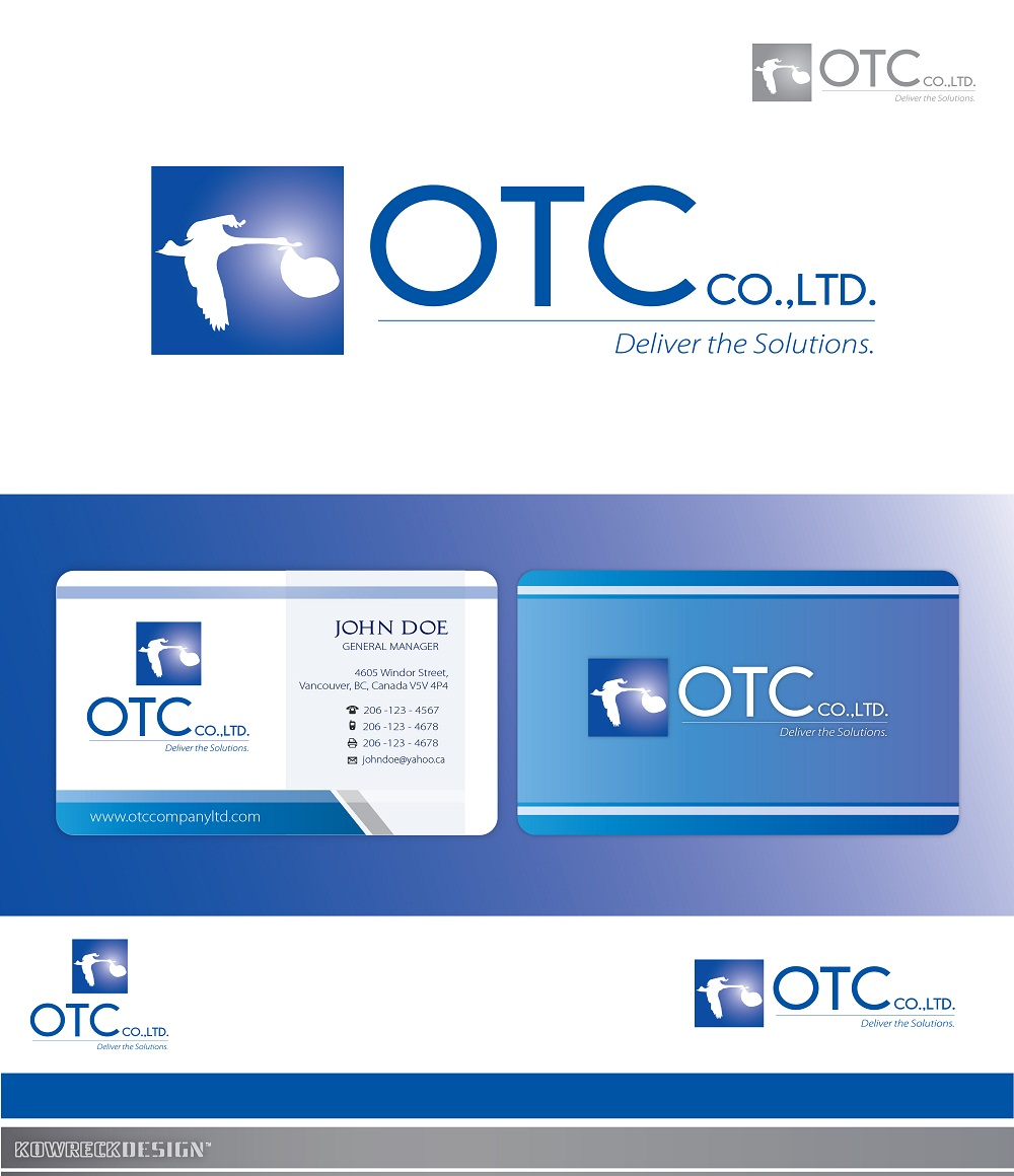 Logo Design by kowreck - Entry No. 100 in the Logo Design Contest Unique Logo Design Wanted for OTC Co.,Ltd..