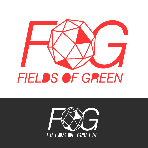 Logo Design by Mathias Frisa - Entry No. 237 in the Logo Design Contest Psych-Rock Band FIELDS OF GREEN Logo Design.