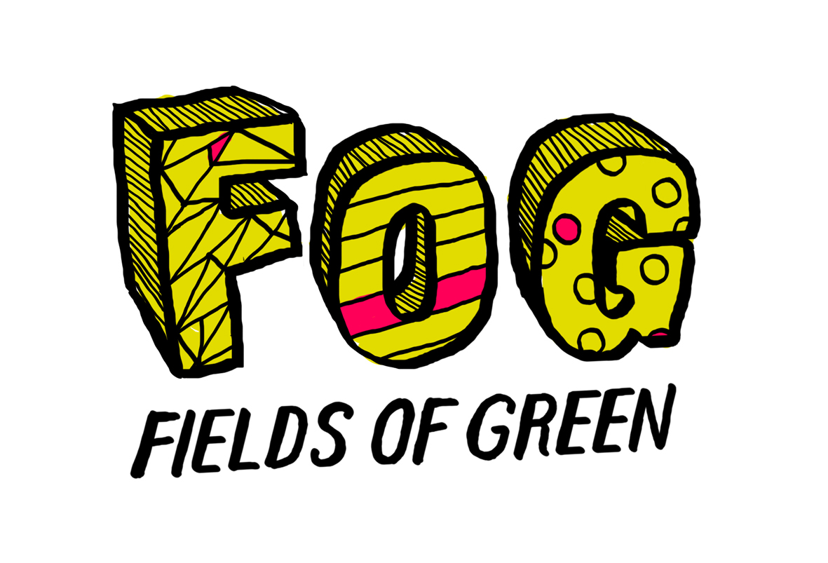 Logo Design by Mathias Frisa - Entry No. 239 in the Logo Design Contest Psych-Rock Band FIELDS OF GREEN Logo Design.
