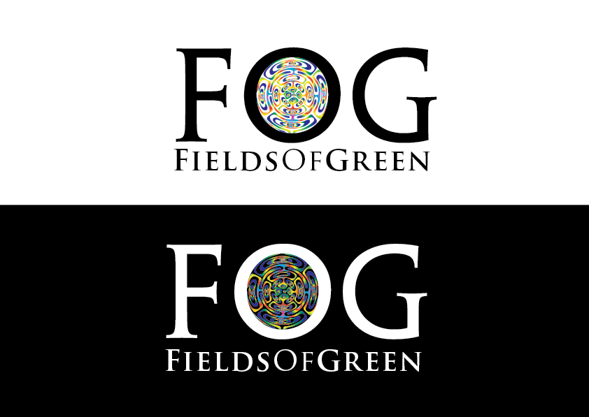 Logo Design by my - Entry No. 240 in the Logo Design Contest Psych-Rock Band FIELDS OF GREEN Logo Design.
