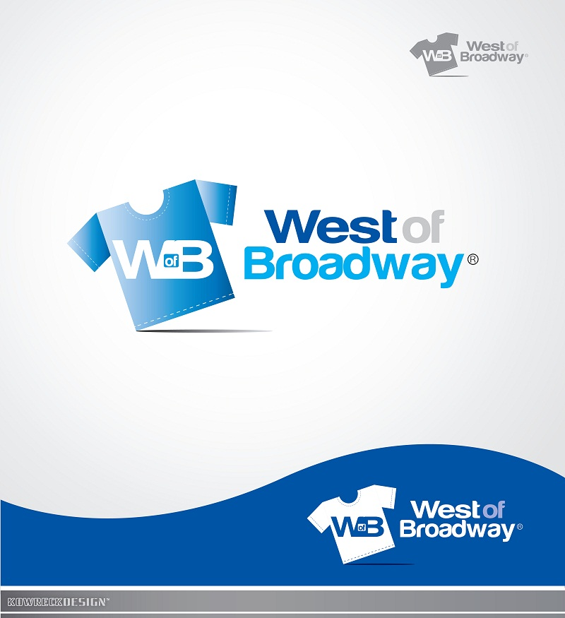 Logo Design by kowreck - Entry No. 36 in the Logo Design Contest Unique Logo Design Wanted for West of Broadway.