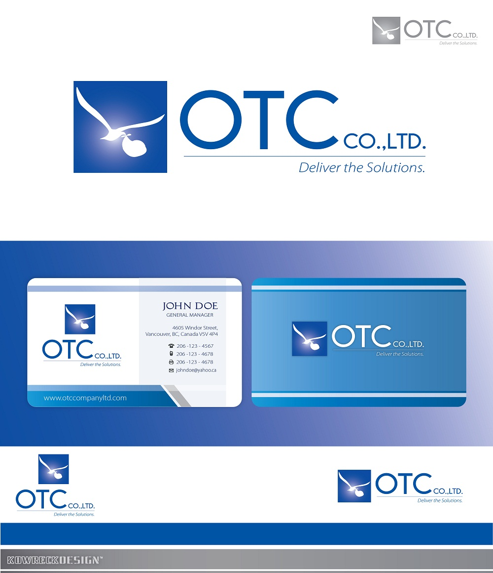 Logo Design by kowreck - Entry No. 108 in the Logo Design Contest Unique Logo Design Wanted for OTC Co.,Ltd..