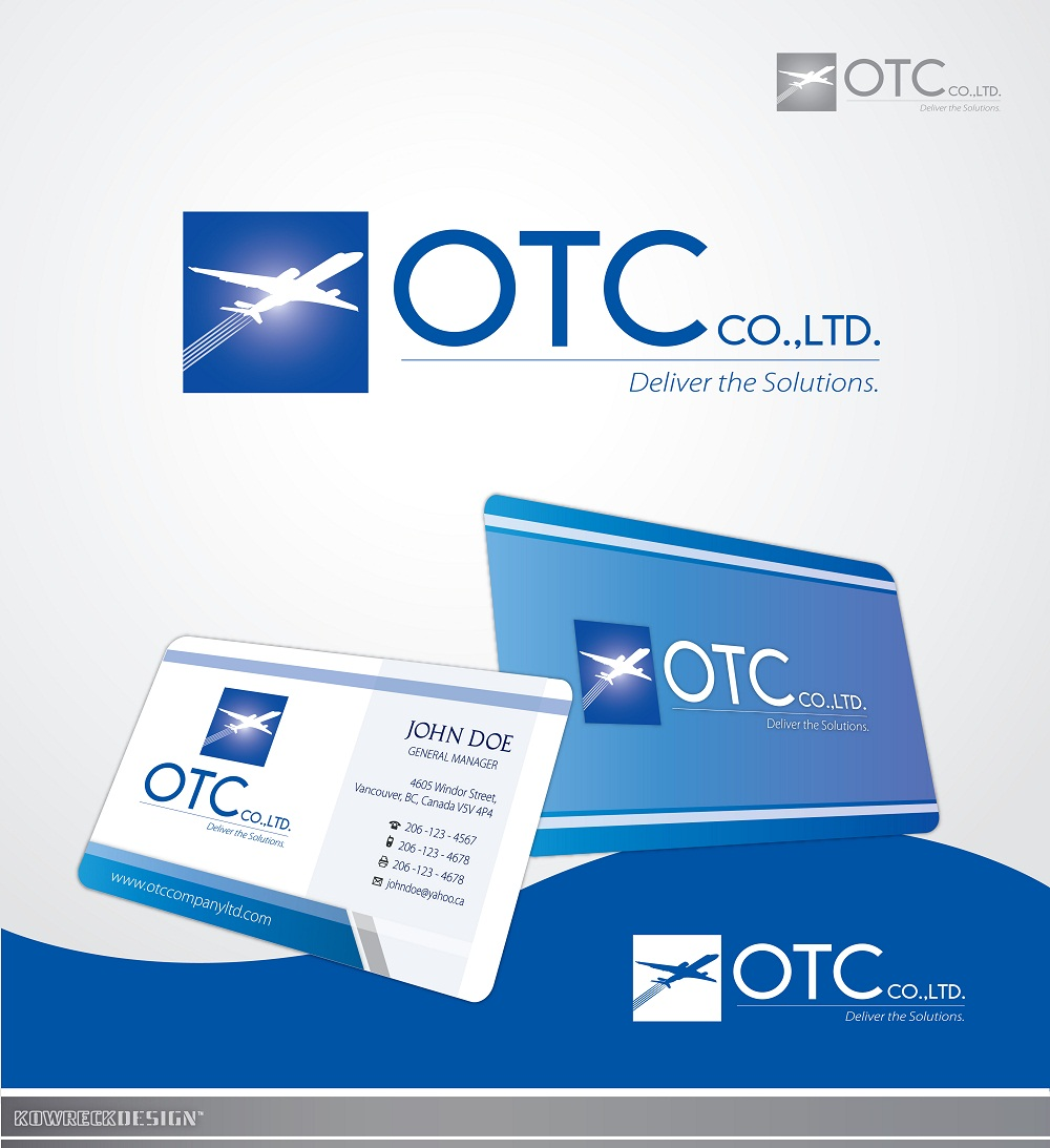 Logo Design by kowreck - Entry No. 109 in the Logo Design Contest Unique Logo Design Wanted for OTC Co.,Ltd..