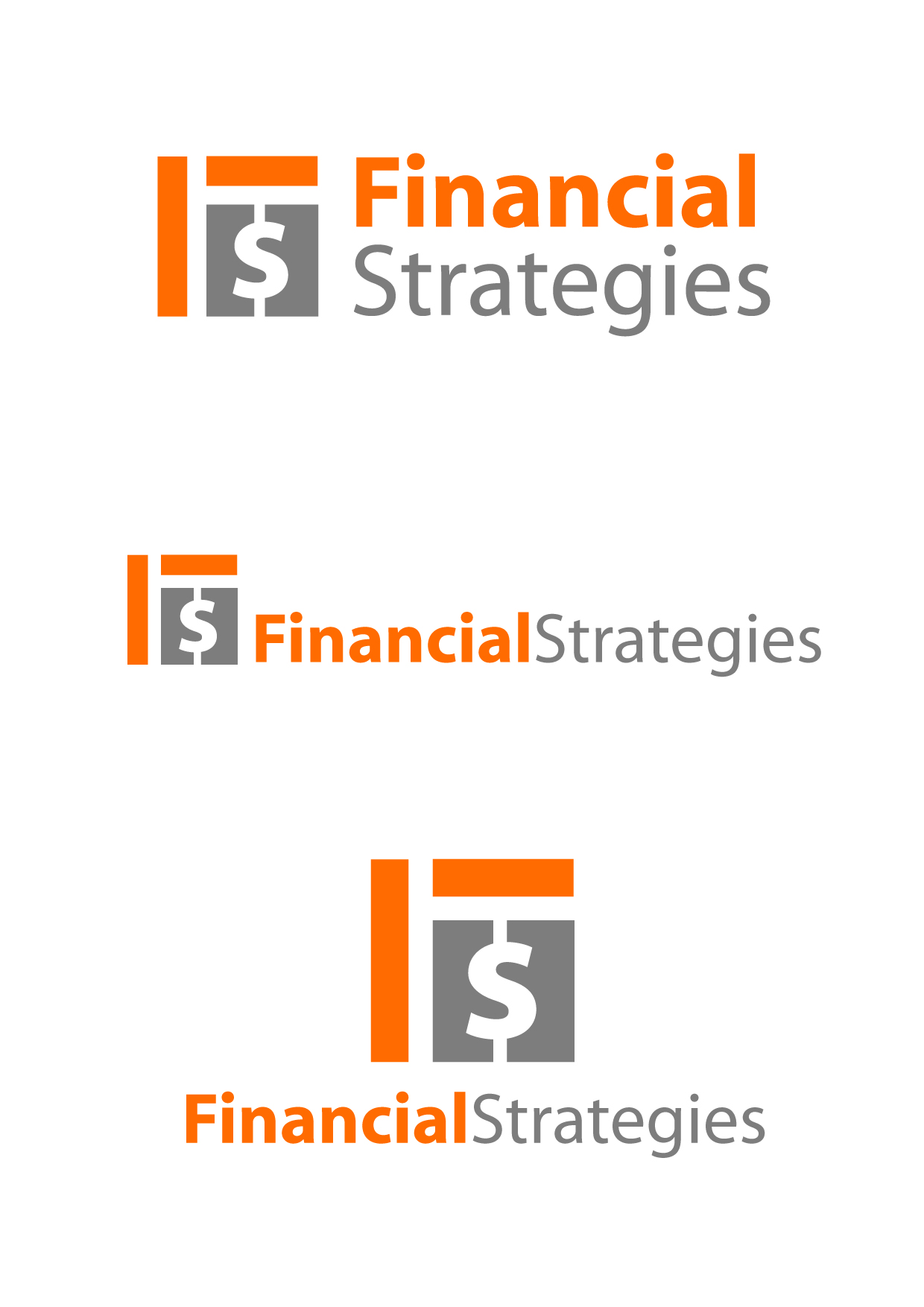 Logo Design by Wilfredo Mendoza - Entry No. 76 in the Logo Design Contest Logo Design Needed for Exciting New Company FS Financial Strategies.