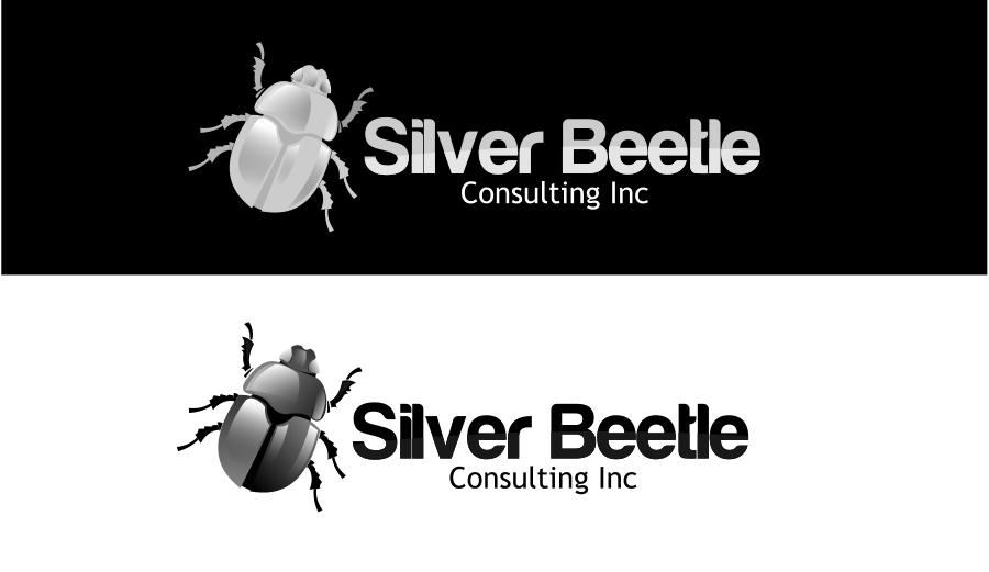 Logo Design by Private User - Entry No. 114 in the Logo Design Contest Silver Beetle Consulting Inc. Logo Design.