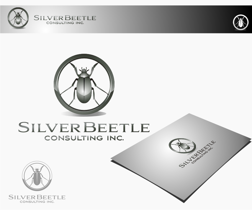 Logo Design by graphicleaf - Entry No. 115 in the Logo Design Contest Silver Beetle Consulting Inc. Logo Design.