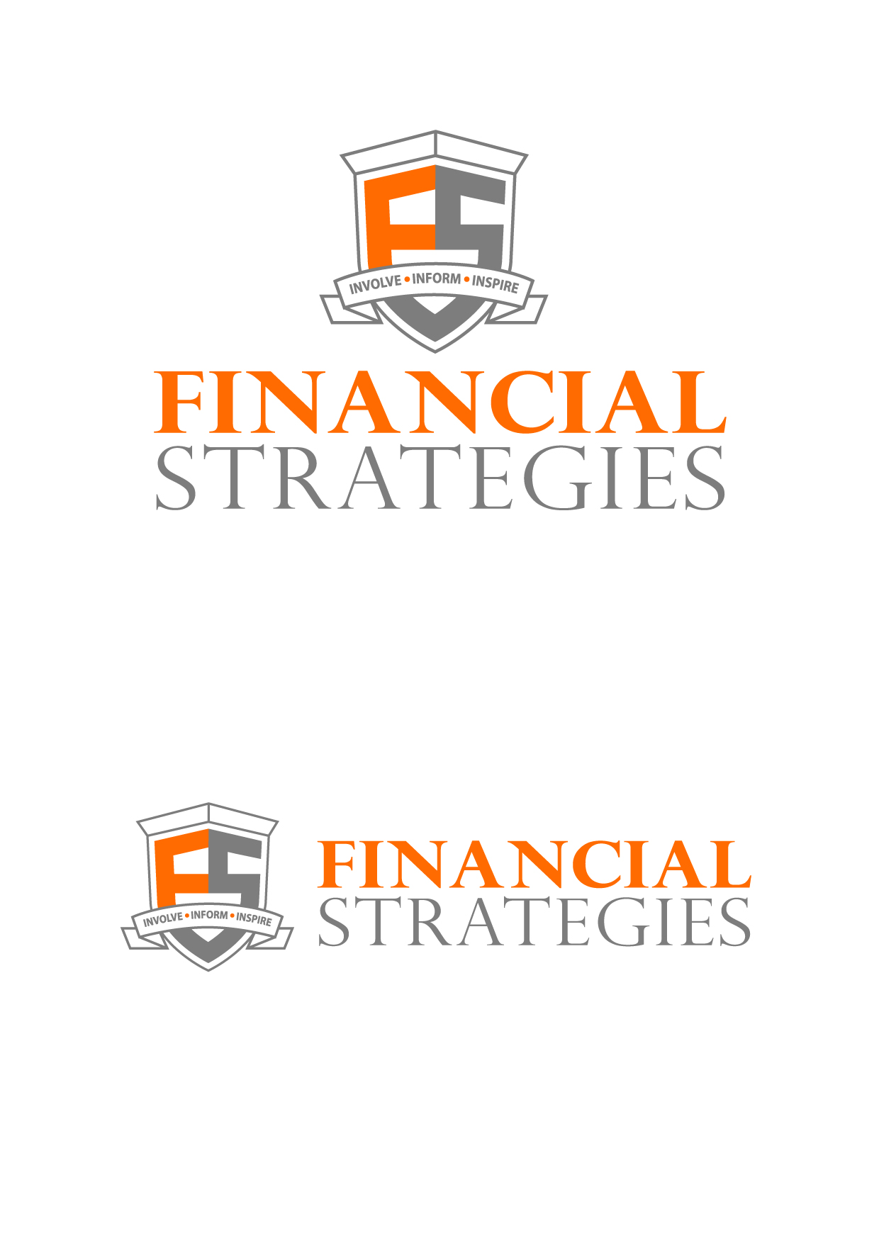 Logo Design by Wilfredo Mendoza - Entry No. 80 in the Logo Design Contest Logo Design Needed for Exciting New Company FS Financial Strategies.