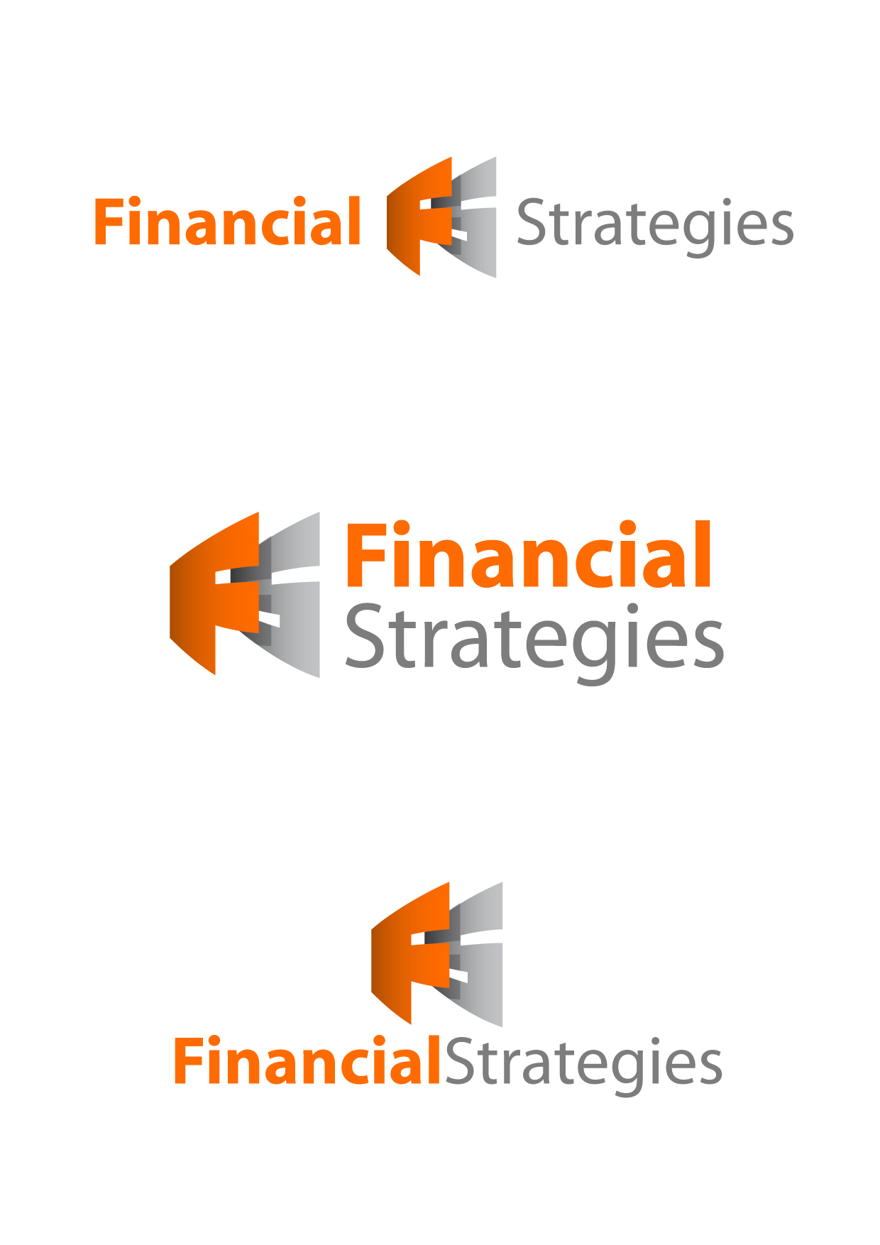 Logo Design by Wilfredo Mendoza - Entry No. 81 in the Logo Design Contest Logo Design Needed for Exciting New Company FS Financial Strategies.