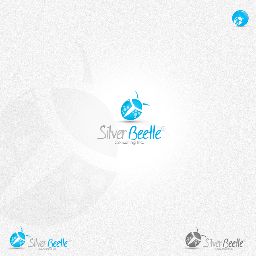 Logo Design by rockpinoy - Entry No. 116 in the Logo Design Contest Silver Beetle Consulting Inc. Logo Design.