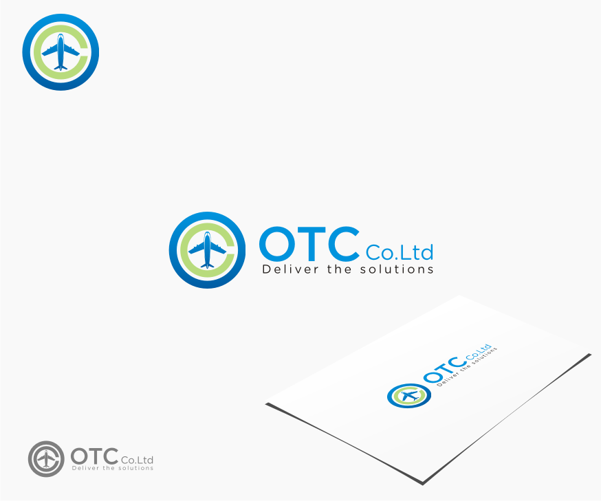 Logo Design by graphicleaf - Entry No. 111 in the Logo Design Contest Unique Logo Design Wanted for OTC Co.,Ltd..
