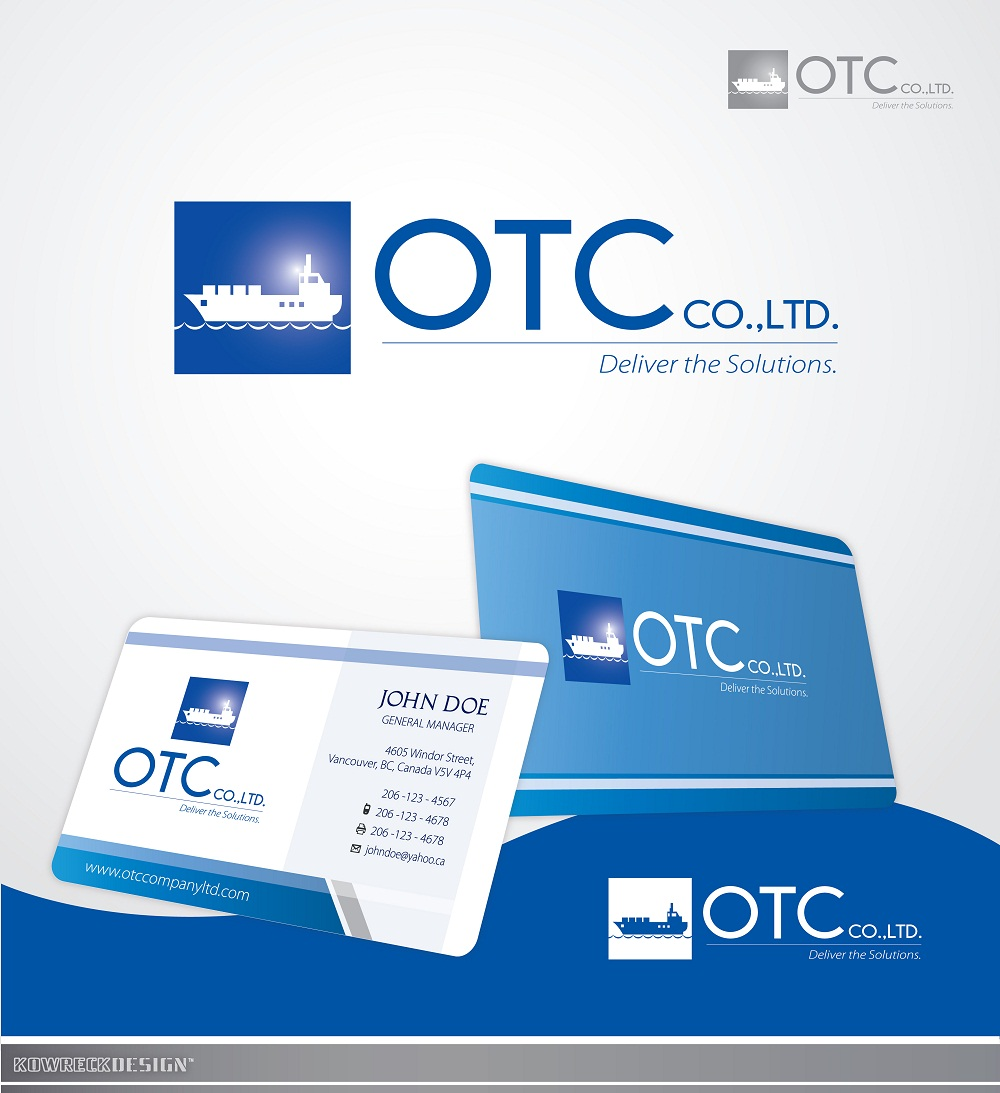 Logo Design by kowreck - Entry No. 113 in the Logo Design Contest Unique Logo Design Wanted for OTC Co.,Ltd..