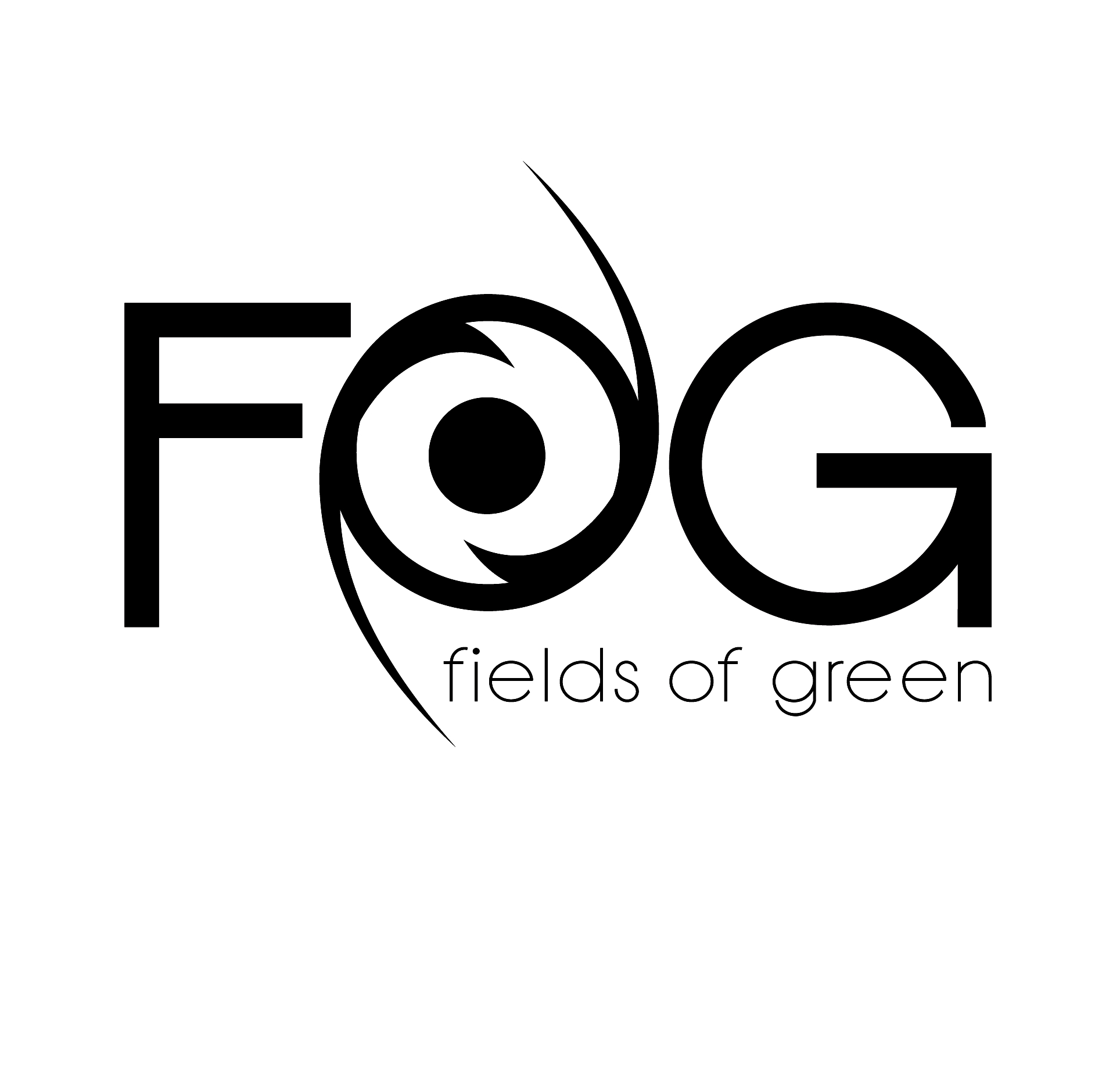 Logo Design by mersina - Entry No. 243 in the Logo Design Contest Psych-Rock Band FIELDS OF GREEN Logo Design.