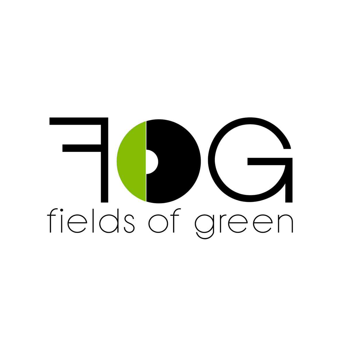 Logo Design by mersina - Entry No. 244 in the Logo Design Contest Psych-Rock Band FIELDS OF GREEN Logo Design.