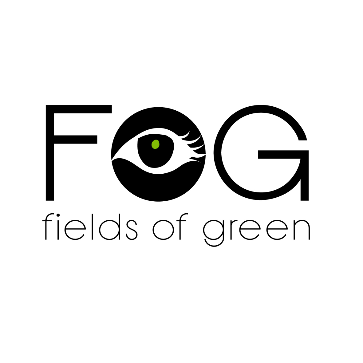 Logo Design by mersina - Entry No. 245 in the Logo Design Contest Psych-Rock Band FIELDS OF GREEN Logo Design.