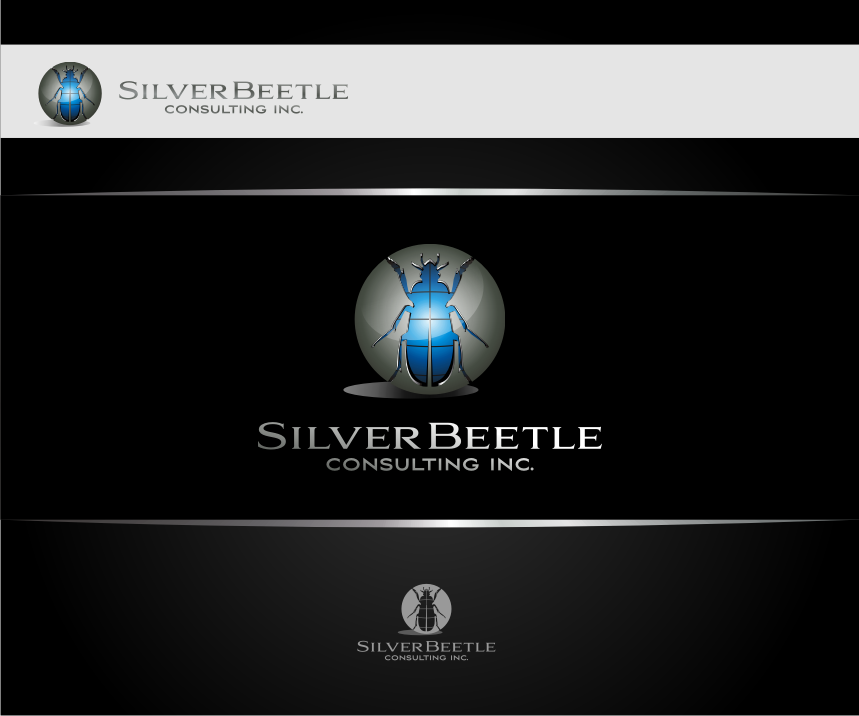 Logo Design by graphicleaf - Entry No. 117 in the Logo Design Contest Silver Beetle Consulting Inc. Logo Design.