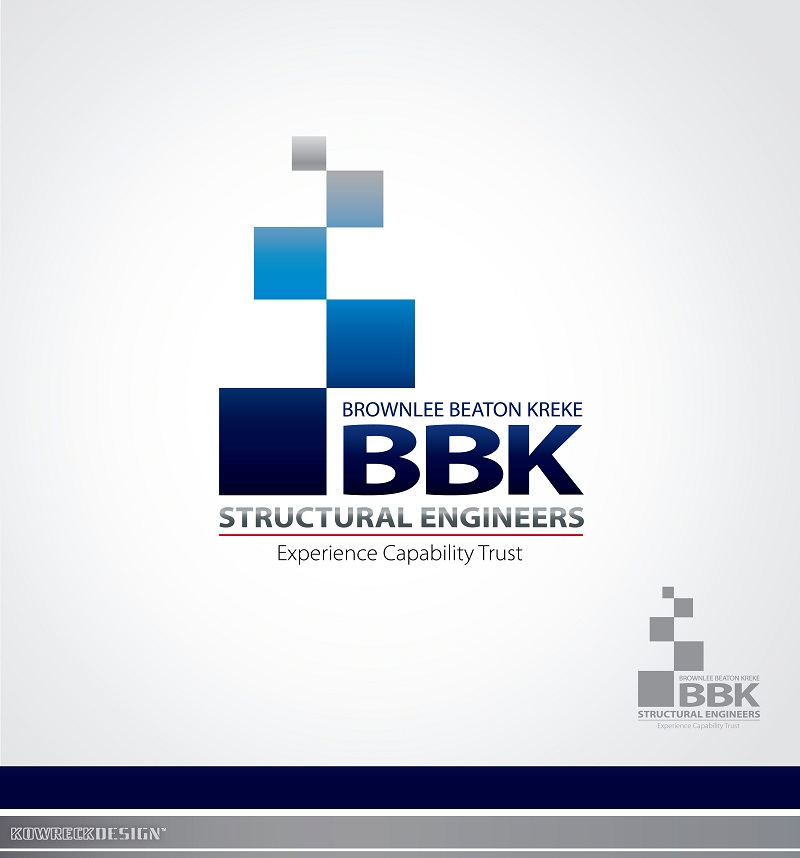 Logo Design by kowreck - Entry No. 33 in the Logo Design Contest Logo Design Needed for Exciting New Company BBK Consulting Engineers.