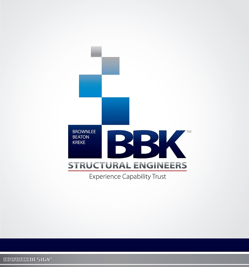Logo Design by kowreck - Entry No. 34 in the Logo Design Contest Logo Design Needed for Exciting New Company BBK Consulting Engineers.