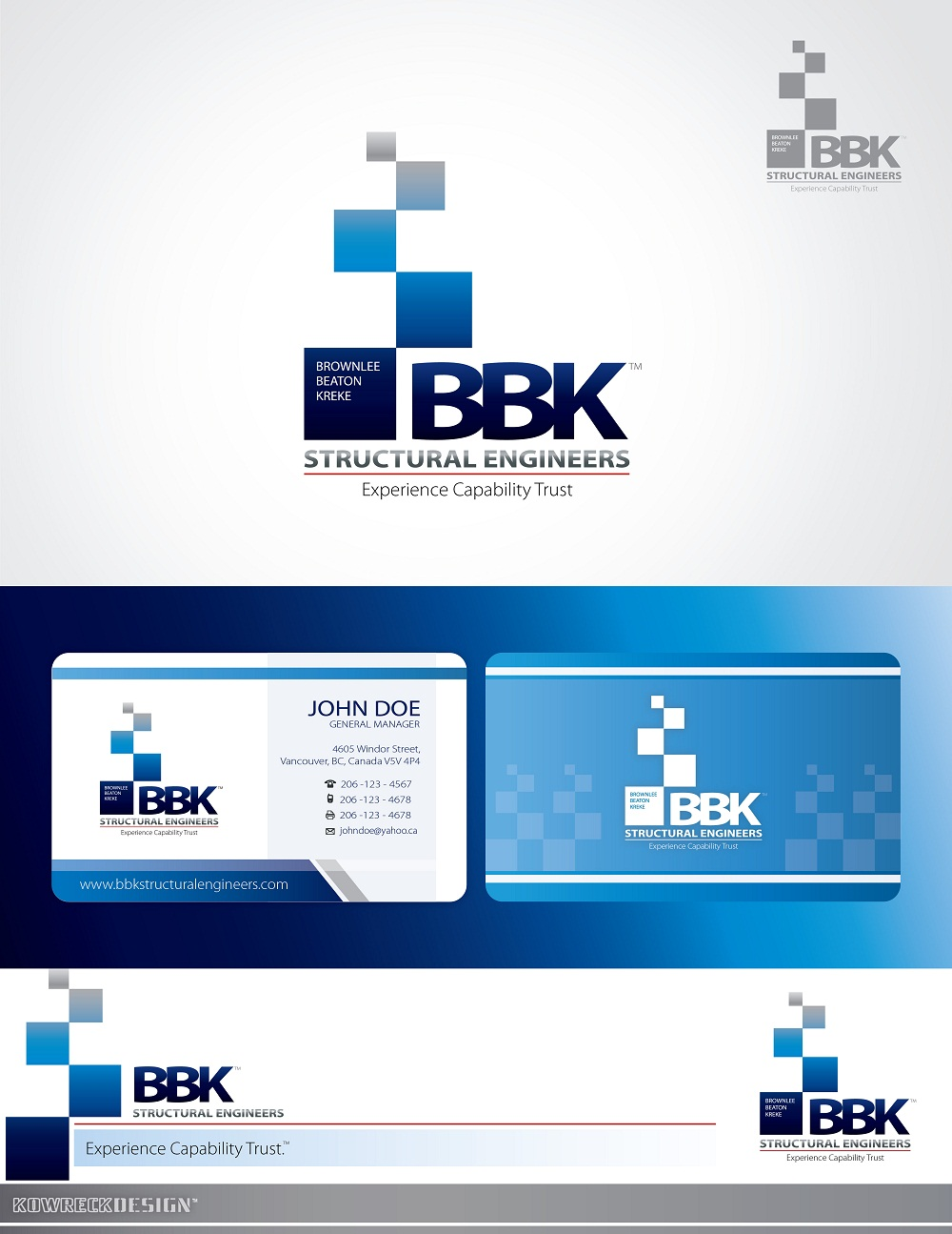 Logo Design by kowreck - Entry No. 35 in the Logo Design Contest Logo Design Needed for Exciting New Company BBK Consulting Engineers.