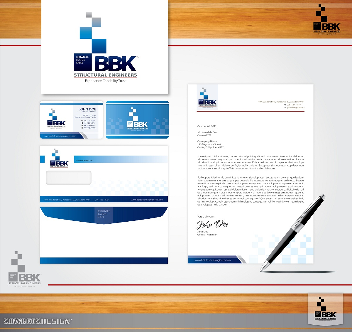 Logo Design by kowreck - Entry No. 37 in the Logo Design Contest Logo Design Needed for Exciting New Company BBK Consulting Engineers.