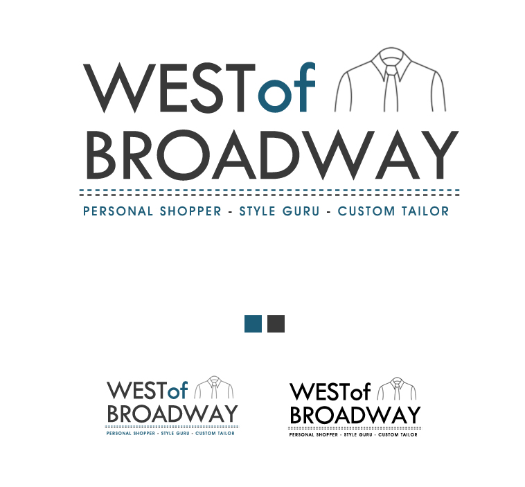 Logo Design by elmd - Entry No. 43 in the Logo Design Contest Unique Logo Design Wanted for West of Broadway.