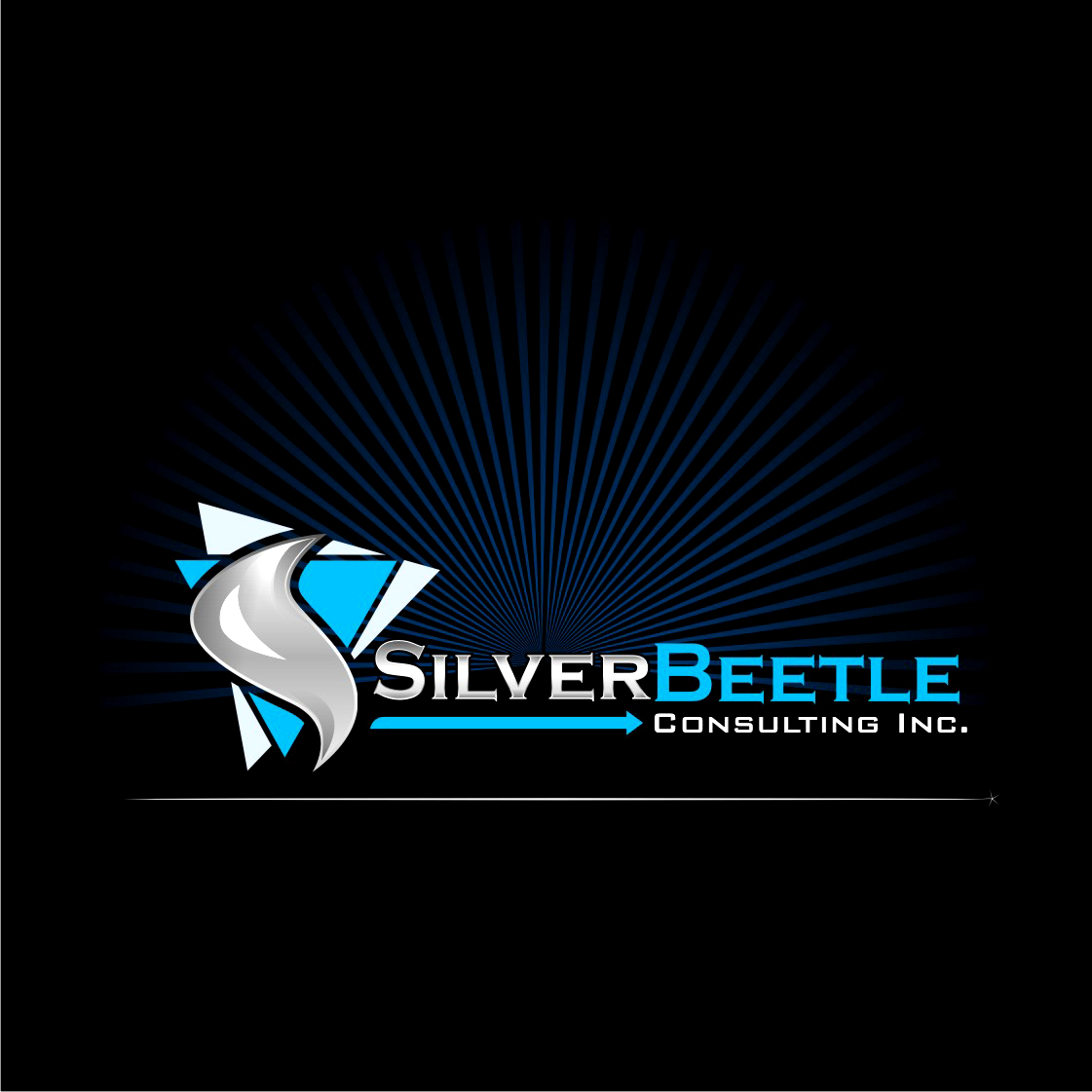 Logo Design by Private User - Entry No. 122 in the Logo Design Contest Silver Beetle Consulting Inc. Logo Design.