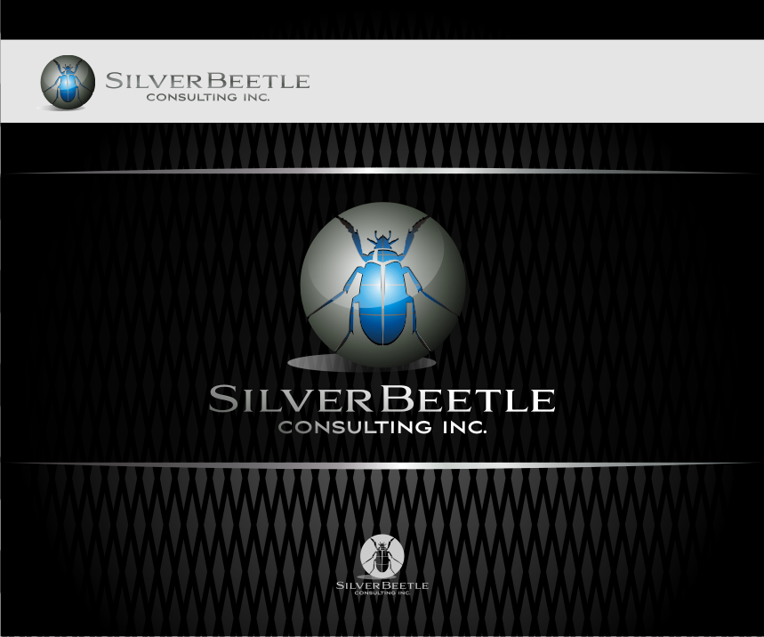 Logo Design by graphicleaf - Entry No. 124 in the Logo Design Contest Silver Beetle Consulting Inc. Logo Design.
