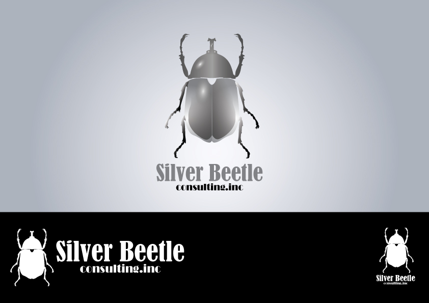Logo Design by Muhammad Mardianto - Entry No. 128 in the Logo Design Contest Silver Beetle Consulting Inc. Logo Design.