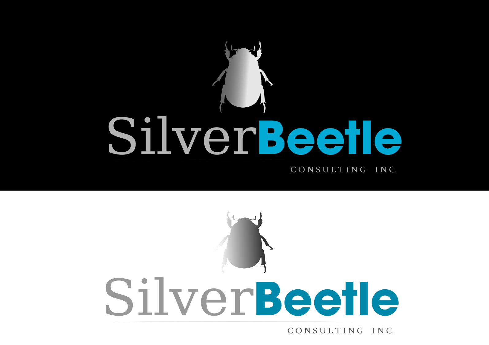 Logo Design by whoosef - Entry No. 130 in the Logo Design Contest Silver Beetle Consulting Inc. Logo Design.
