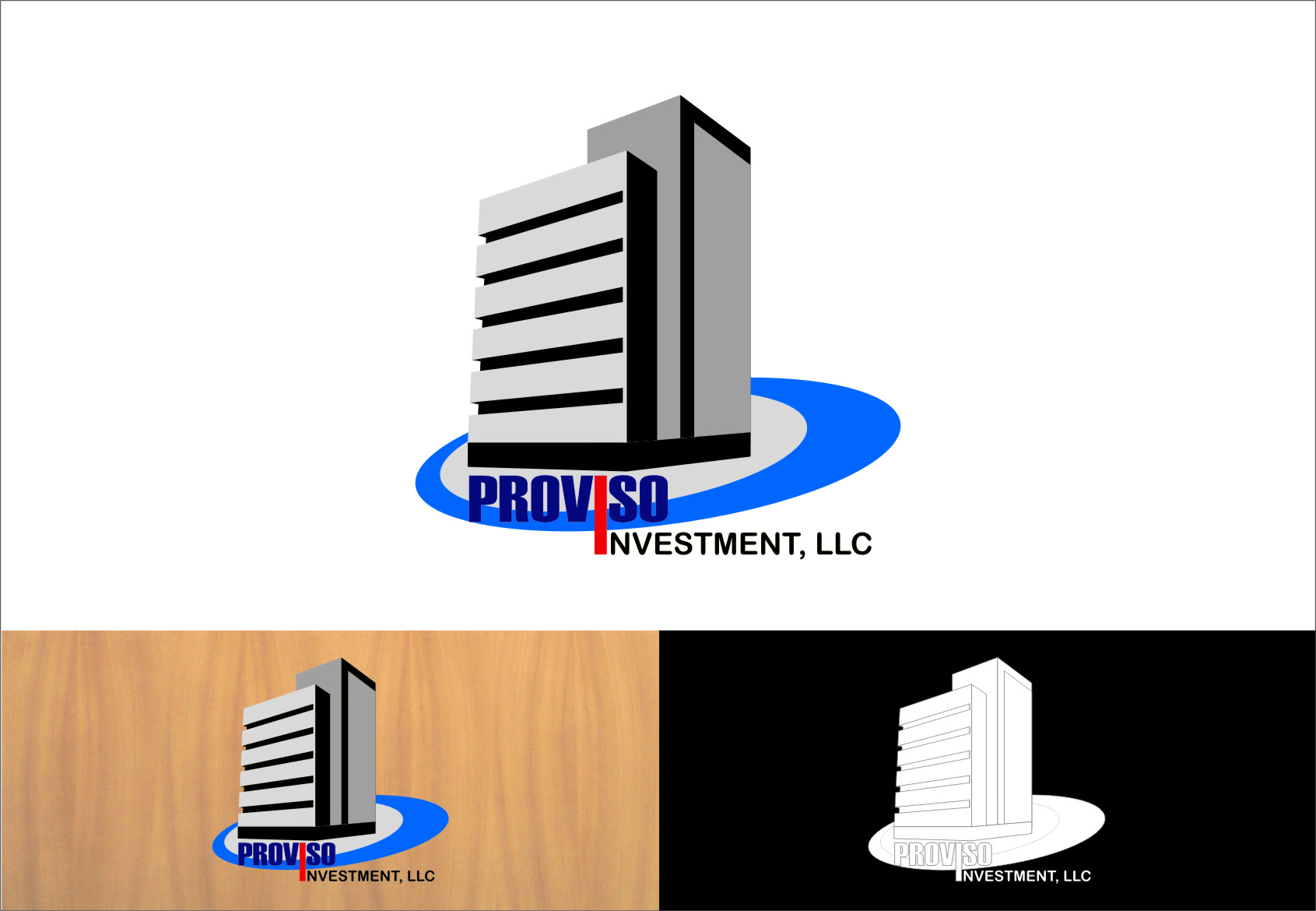 Logo Design by RasYa Muhammad Athaya - Entry No. 31 in the Logo Design Contest New Logo Design for PROVISO INVESTMENTS,LLC.