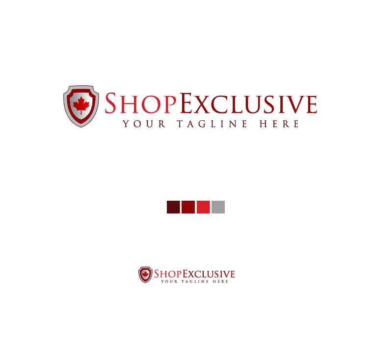 Logo Design by elmd - Entry No. 15 in the Logo Design Contest Logo Design needed for branding exciting new company:  ShopExclusive.ca.