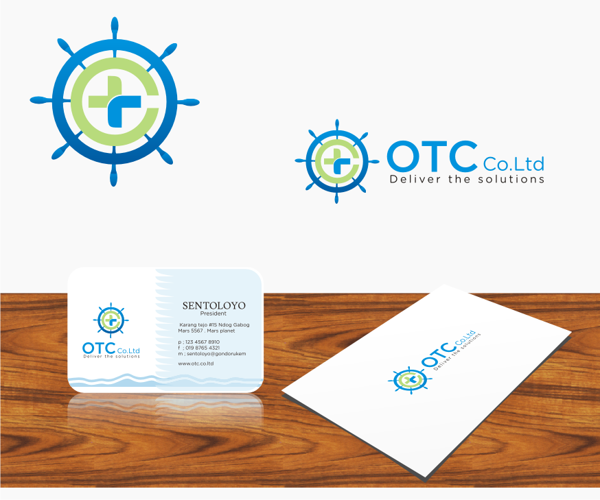Logo Design by graphicleaf - Entry No. 119 in the Logo Design Contest Unique Logo Design Wanted for OTC Co.,Ltd..